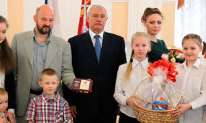 Льготы многодетным семьям в Санкт-Петербурге в 2018 году