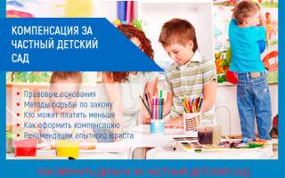 Компенсация за частный детский сад в 2020 году: возврат денег, НДФЛ
