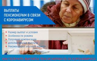 Выплаты пенсионерам из-за коронавируса: размер компенсации на карантине