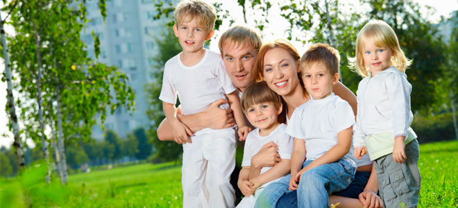 Льготы многодетным семьям в Санкт-Петербурге в 2019 году