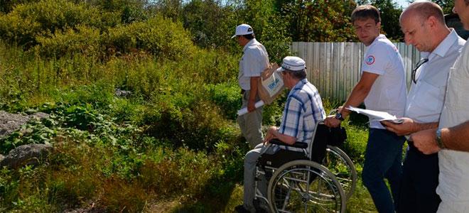 С какой целью выделяется участок инвалидам