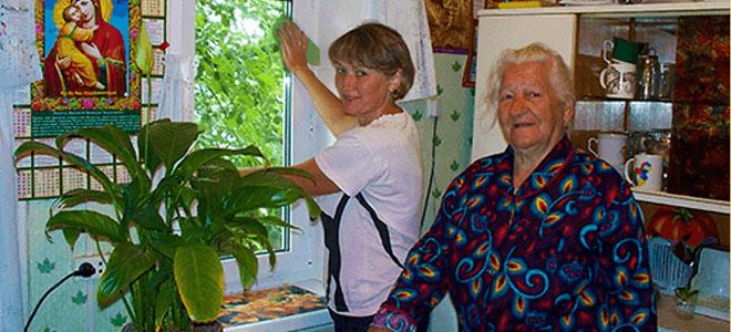 Социальные услуги на дому ветеранам труда Липецка