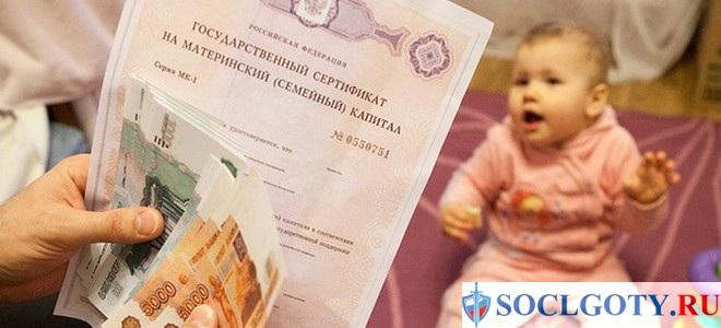 Губернаторский сертификат на третьего ребенка
