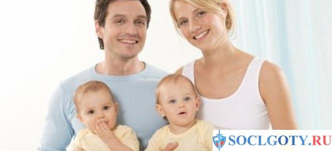 Материнский капитал за 2 ребенка