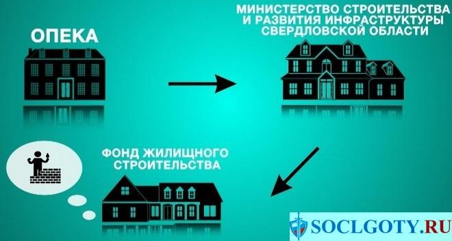 схема выделения жилья сиротам